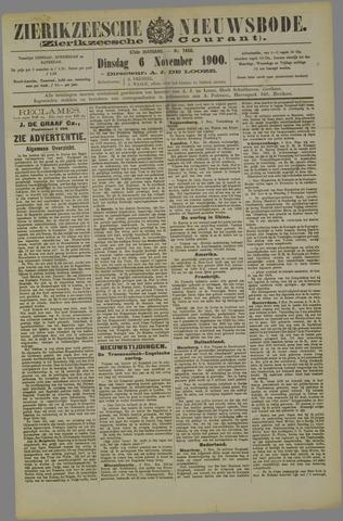 Zierikzeesche Nieuwsbode 1900-11-06
