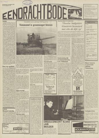 Eendrachtbode (1945-heden)/Mededeelingenblad voor het eiland Tholen (1944/45) 1979-09-06