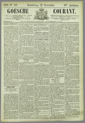 Goessche Courant 1906-11-29