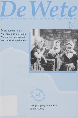 de Wete 2003-01-01