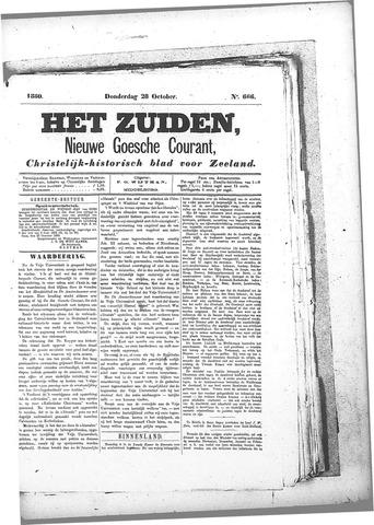 Nieuwe Goessche Courant 1880-10-28