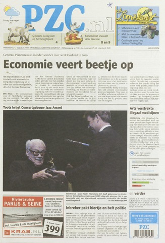 Provinciale Zeeuwse Courant 2009-08-12