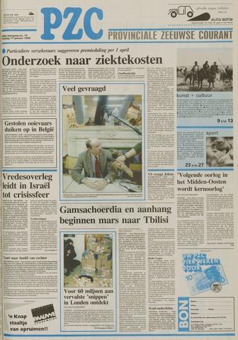 Provinciale Zeeuwse Courant 1992-01-17