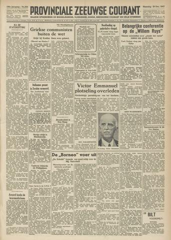 Provinciale Zeeuwse Courant 1947-12-29