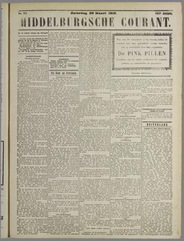 Middelburgsche Courant 1919-03-29