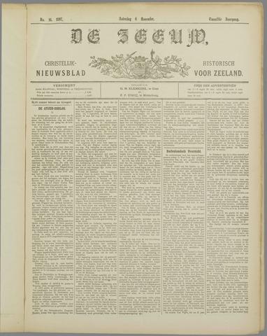 De Zeeuw. Christelijk-historisch nieuwsblad voor Zeeland 1897-11-06