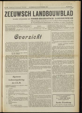 Zeeuwsch landbouwblad ... ZLM land- en tuinbouwblad 1952-11-29