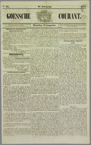 Goessche Courant 1859-08-15