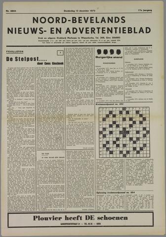 Noord-Bevelands Nieuws- en advertentieblad 1973-12-13