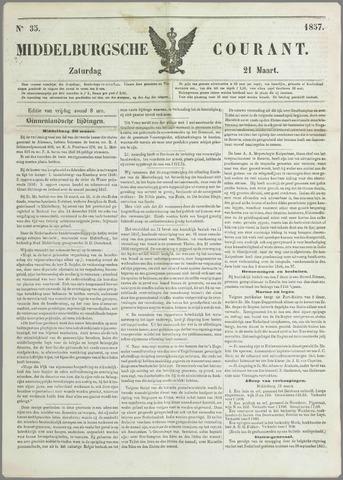 Middelburgsche Courant 1857-03-21