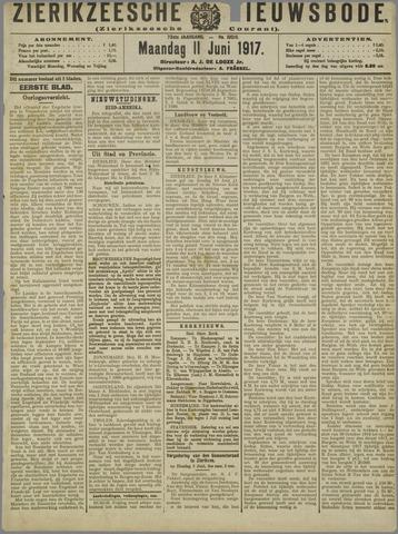 Zierikzeesche Nieuwsbode 1917-06-11