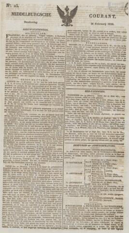 Middelburgsche Courant 1829-02-26