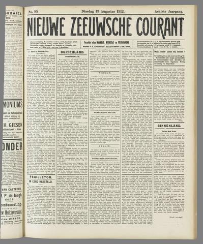 Nieuwe Zeeuwsche Courant 1912-08-13