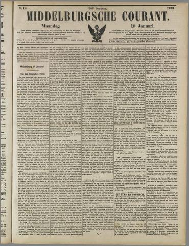 Middelburgsche Courant 1903-01-19
