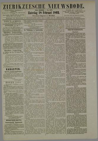 Zierikzeesche Nieuwsbode 1893-02-18