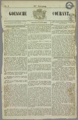 Goessche Courant 1856-01-07