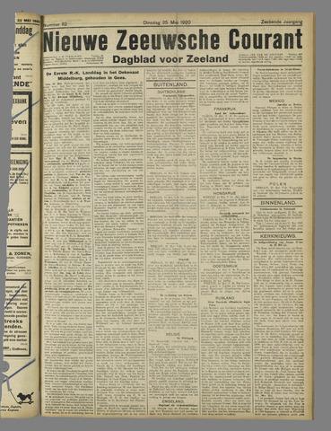 Nieuwe Zeeuwsche Courant 1920-05-25