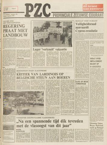 Provinciale Zeeuwse Courant 1974-08-02