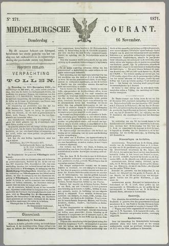 Middelburgsche Courant 1871-11-16