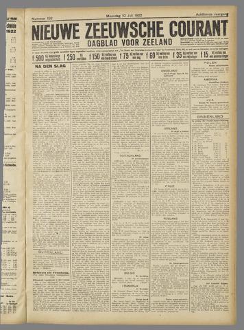 Nieuwe Zeeuwsche Courant 1922-07-10