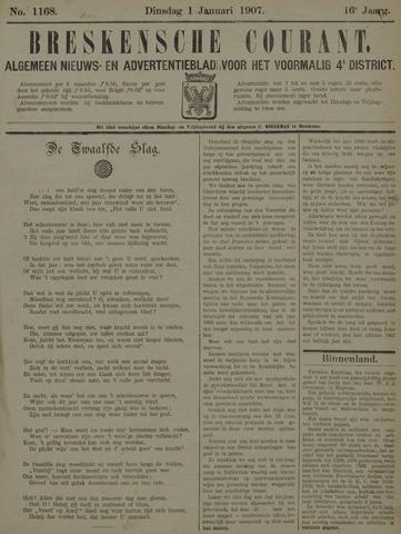 Breskensche Courant 1907