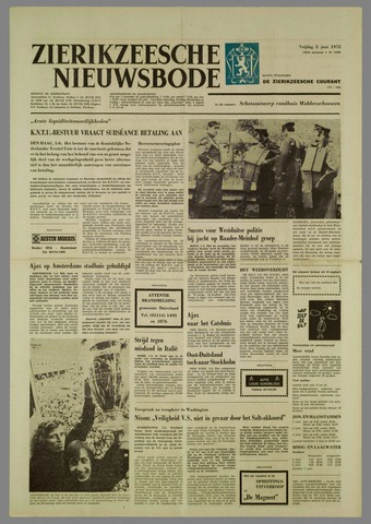 Zierikzeesche Nieuwsbode 1972-06-02