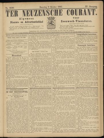 Ter Neuzensche Courant. Algemeen Nieuws- en Advertentieblad voor Zeeuwsch-Vlaanderen / Neuzensche Courant ... (idem) / (Algemeen) nieuws en advertentieblad voor Zeeuwsch-Vlaanderen 1897-10-09