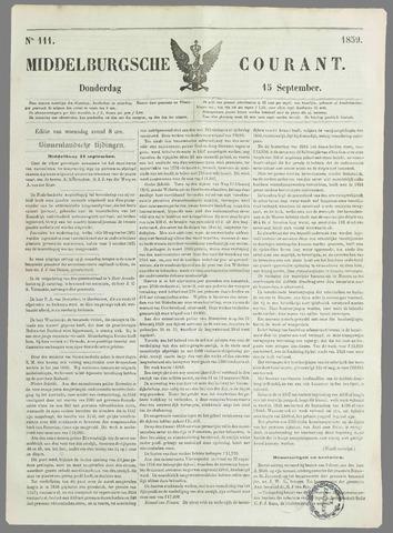 Middelburgsche Courant 1859-09-15