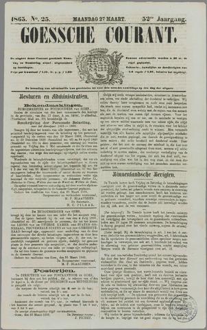 Goessche Courant 1865-03-27