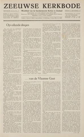 Zeeuwsche kerkbode, weekblad gewijd aan de belangen der gereformeerde kerken/ Zeeuwsch kerkblad 1959-09-25
