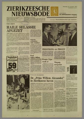 Zierikzeesche Nieuwsbode 1974-09-12