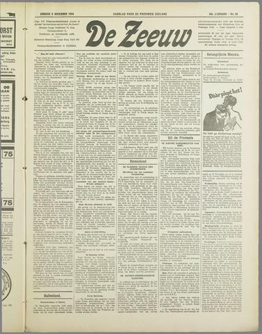 De Zeeuw. Christelijk-historisch nieuwsblad voor Zeeland 1934-11-06