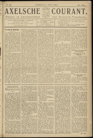 Axelsche Courant 1925-07-07