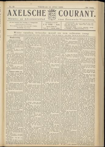 Axelsche Courant 1938-07-15