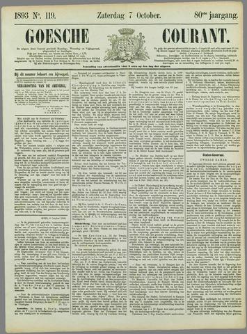 Goessche Courant 1893-10-07