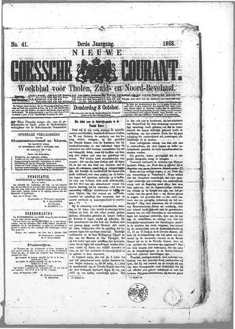 Nieuwe Goessche Courant 1868-10-08