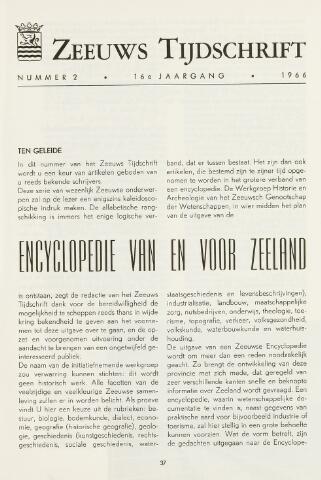 Zeeuws Tijdschrift 1966-03-01