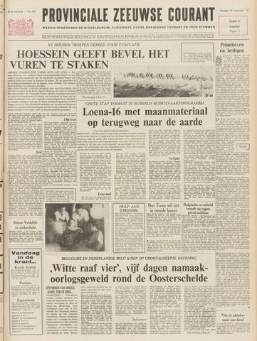 Provinciale Zeeuwse Courant 1970-09-22