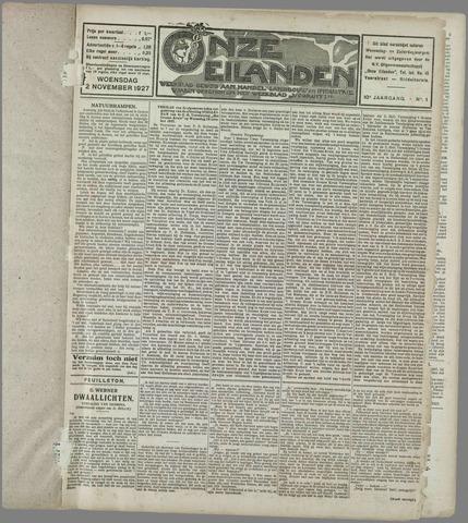 Onze Eilanden 1927-11-02
