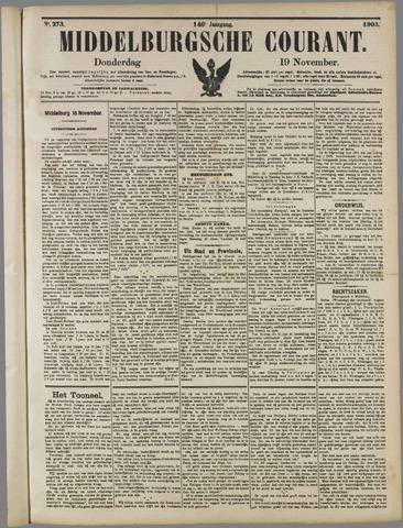 Middelburgsche Courant 1903-11-19