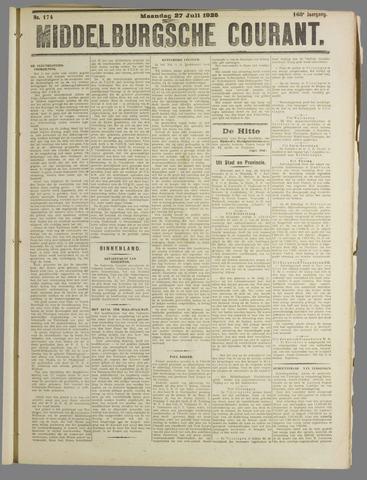 Middelburgsche Courant 1925-07-27
