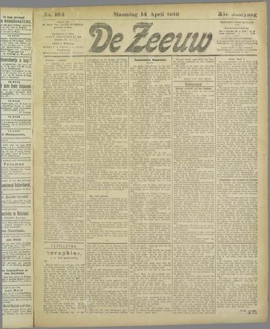 De Zeeuw. Christelijk-historisch nieuwsblad voor Zeeland 1919-04-14
