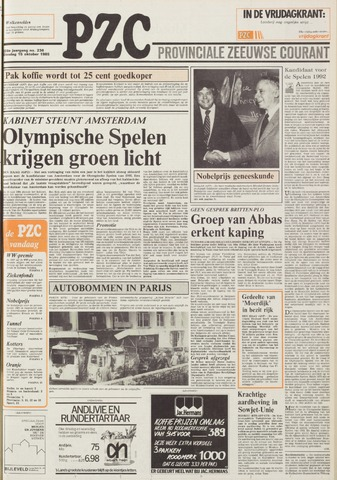 Provinciale Zeeuwse Courant 1985-10-15