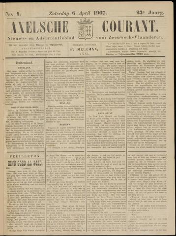 Axelsche Courant 1907-04-06