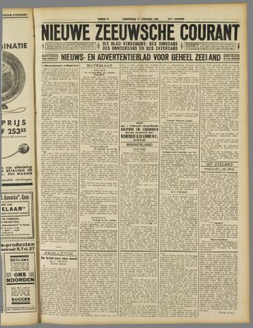 Nieuwe Zeeuwsche Courant 1930-02-27