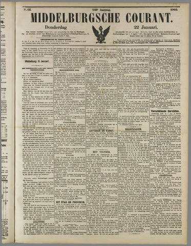 Middelburgsche Courant 1903-01-22