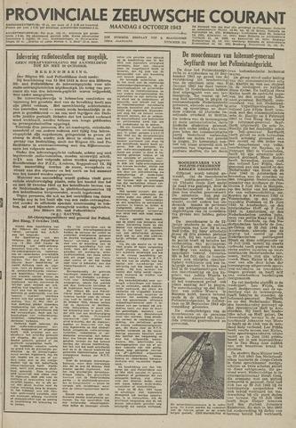 Provinciale Zeeuwse Courant 1943-10-04