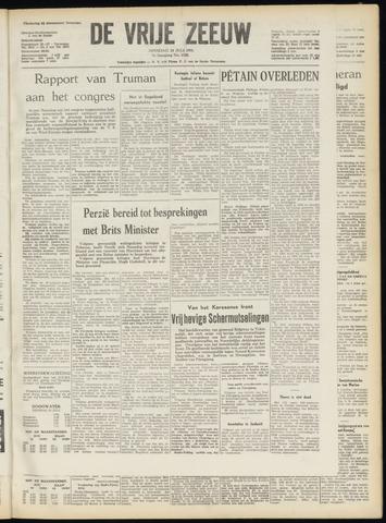 de Vrije Zeeuw 1951-07-24