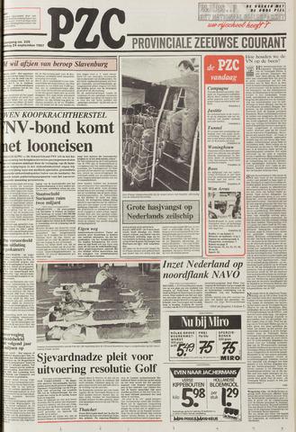 Provinciale Zeeuwse Courant 1987-09-24