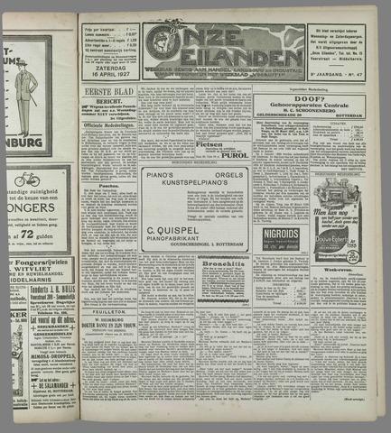 Onze Eilanden 1927-04-16